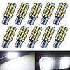 5x Car LED T10 192 194 168 W5W LED Bulbs 33 SMD 3014 Tail Lights Dome Lamp White DC 12V Canbus Error Free Auto Accessories