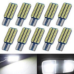 Image 1 - 5x 자동차 LED T10 192 194 168 W5W LED 전구 33 SMD 3014 테일 라이트 돔 램프 화이트 DC 12V Canbus 오류 무료 자동차 액세서리