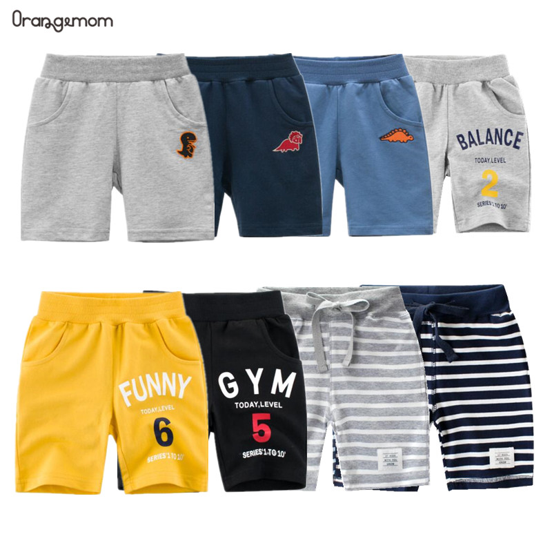 2020 New Fashion Summer Children Shorts Cotton For  Boys Short Toddler Panties Kids Beach Short Casual Sports Pants Baby Boys