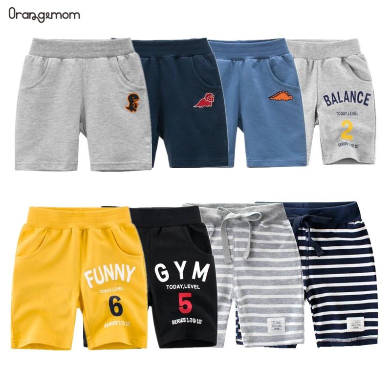 2020 New Fashion Summer Children Shorts Cotton For  Boys Short Toddler Panties Kids Beach Short Casual Sports Pants Baby Boys