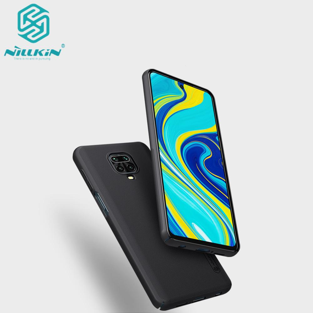 for Xiaomi Redmi Note 9 Pro Case NILLKIN Frosted PC Hard Back Cover Case for Xiaomi Redmi Note 9 Pro Max/9S|Fitted Cases|   - AliExpress