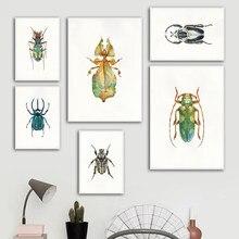 Arte besouros quadros e posters quadros quadros quadros em tela quadros de parede sala de estar decoração de casa
