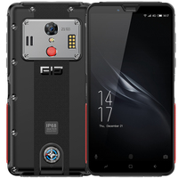 Original Elephone Soldier 4G Smartphone 5.5 Inch Android 8.0 MTK X25 4GB RAM 128GB ROM 21.0MP Rear Camera IP68 Mobile Phone