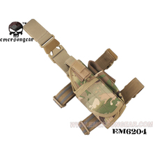 emersongear Multicam Drop Leg Holster Pistol Thigh Universal Right Left Tactical Tornado Mag Pouch Airsoft