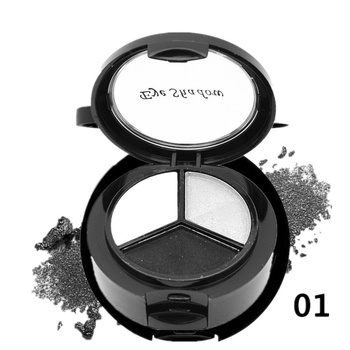 New 2021 Eye Shadow 3 Colors Makeup Eyehsadow Palette 8 Style Smoky Cosmetic Set Natural Matte Make Up Glitter Eyeshadow Pallete 1