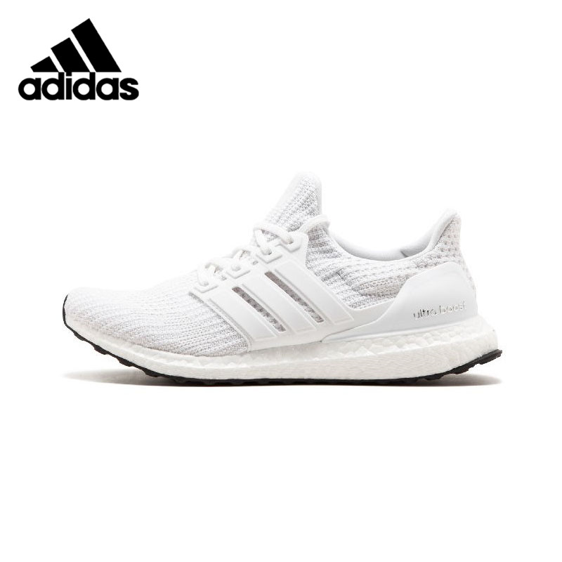 Adidas UltraBoost UB4.0 Man Running Shoes Black white Breathable Stability Support Sports Shoes Man Sneakers