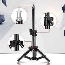 37cm/14.5 אינץ צילום מיני שולחן 1/4 בורג ראש אור Stand עבור תמונה סטודיו טבעת אור LED מנורה