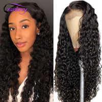 Arándano del pelo de la onda de agua de Malasia cierre peluca Remy pelucas de cabello humano para las mujeres negras, 4x4, cierre de encaje Peluca de suerte cabello