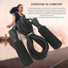 Exercício aeróbico boxe saltar corda ajustável rolamento velocidade da aptidão corda pular formação corda corda corda