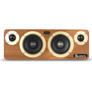 Image 3 - 80W Bluetooth Speaker Built in TI3116 Chip HD Audio TV Louderspeaker Home Computer Music Player SPDIF Bookshelf Wood Speakers