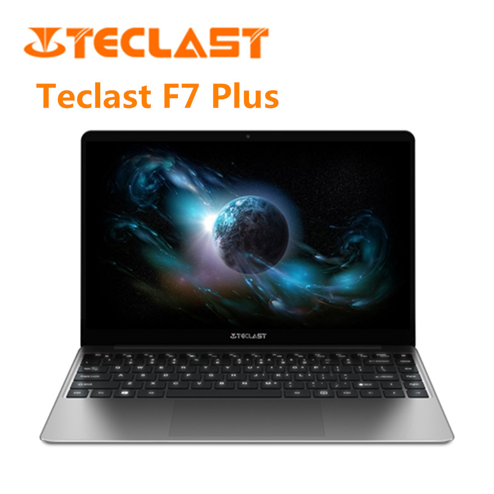 Teclast F7 Plus Laptop 14.0 Inch Notebook 1.1GHz,Quad Core Intel Gemini Lake N4100 Quad Core 1.1GHz 8GB RAM 256GB SSD Laptop