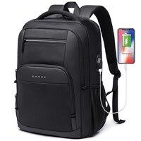 جديد سعة كبيرة 15.6 بوصة حقيبة المدرسة اليومية متعددة الوظائف USB شحن رجل محمول على ظهره للمراهقين