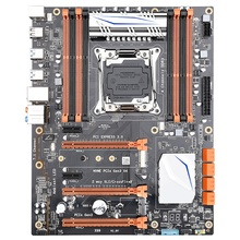 New x99 Motherboard Simulator Multi-Open Desktop Host Computer Lga2011-3 Ddr3 Three Generation Memory Support E5 2678V3