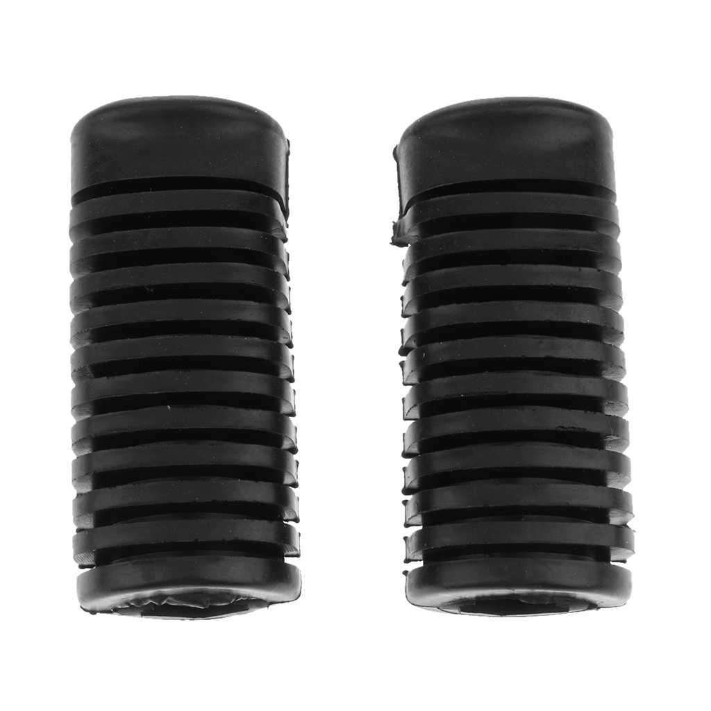 Kauçuk kaymaz Footrest pedalı ayak Peg Footpeg için Set kapakları CG125