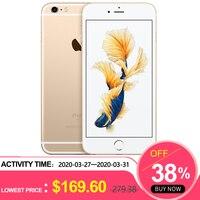 used iPhone 6S Plus 2GB RAM 16/64/128GB ROM 5.5Dual Core 12.0MP Camera 4K Video iOS LTE fingerprint Mobile phone