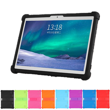 SZOXBY Tablet 10.1 Universal Case Soft Silicone for 10 10.1 inch Android Tablet PC Soft Shockproof Cover Case L 9.44in W 6.69in