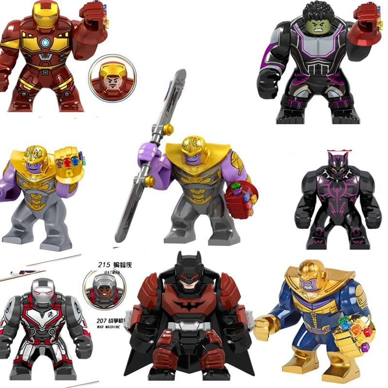Legoing The Film Marvel Thanos Iron Man Avengers Hulk Endgame Infinity War 4 Marvels Super Heroes Figures Blocks Gifts Toys Set