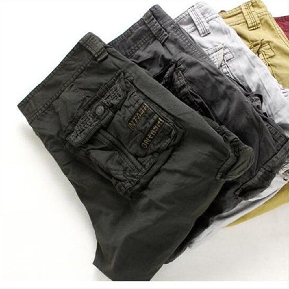 Closeout DealsShort Pants Homme Plus-Size Camouflage Summer Men Loose 8-Colors No-Belt 29-42 New-Brand