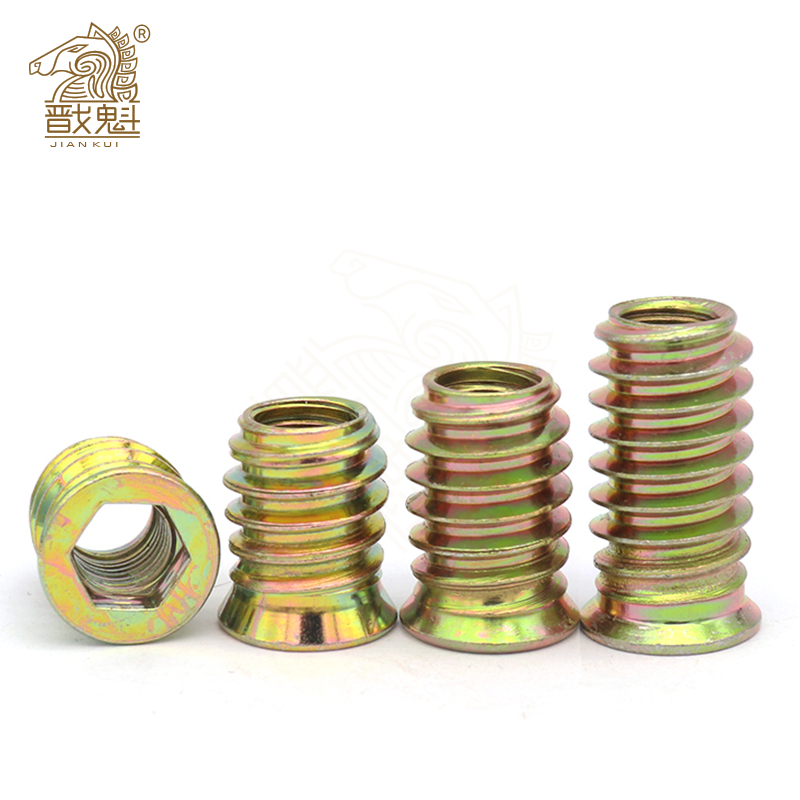 5 / 10 / 20 hexagon screw with thread for wooden furniture
