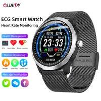 ECG Smart Watch Sport Bracelet Waterproof Women Men Step Counting Heart Rate Health Monitor For iPhone Huawei Message Reminder
