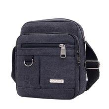 Мода холст плечо сумки мужчины путешествия сумка мессенджер крест тело сумка для мужские классические досуг многофункциональные сумки мужские