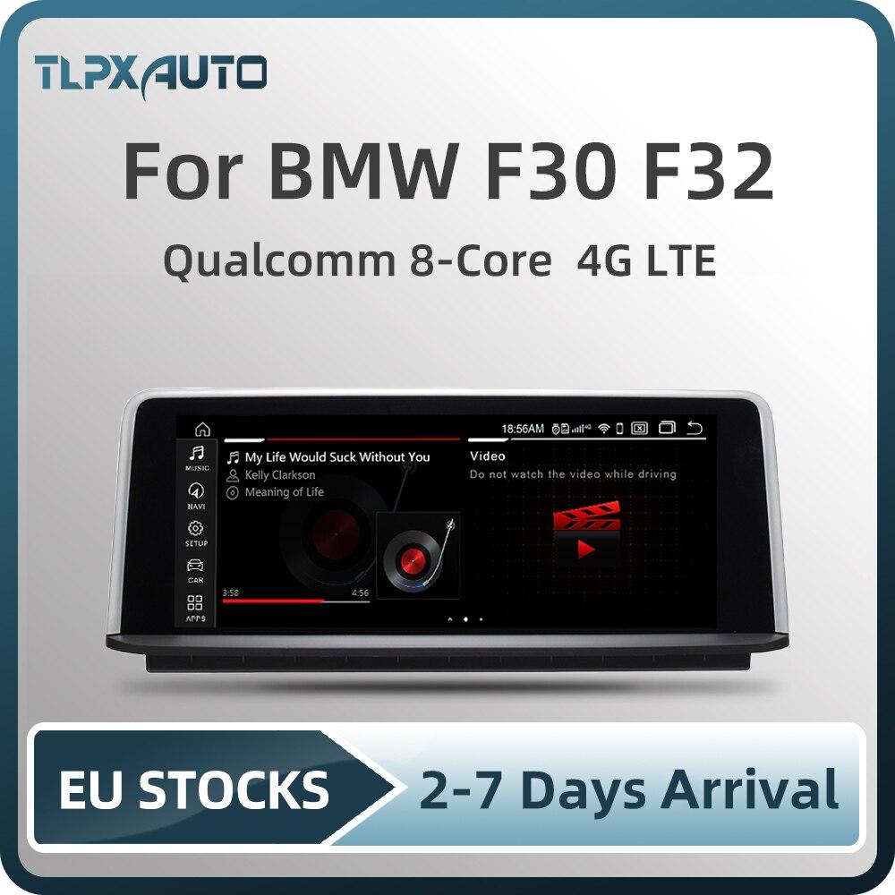 """10,25 """"Android 10 устройство, док станция Qualcomm 8 ядерный 4G + 64G 4 аппарат не привязан к оператору сотовой связи автомобильный мультимедийный плеер для BMW серии 3/4 F30 F31 F32 F33 навигация авто радио Автомагнитолы      АлиЭкспресс"""