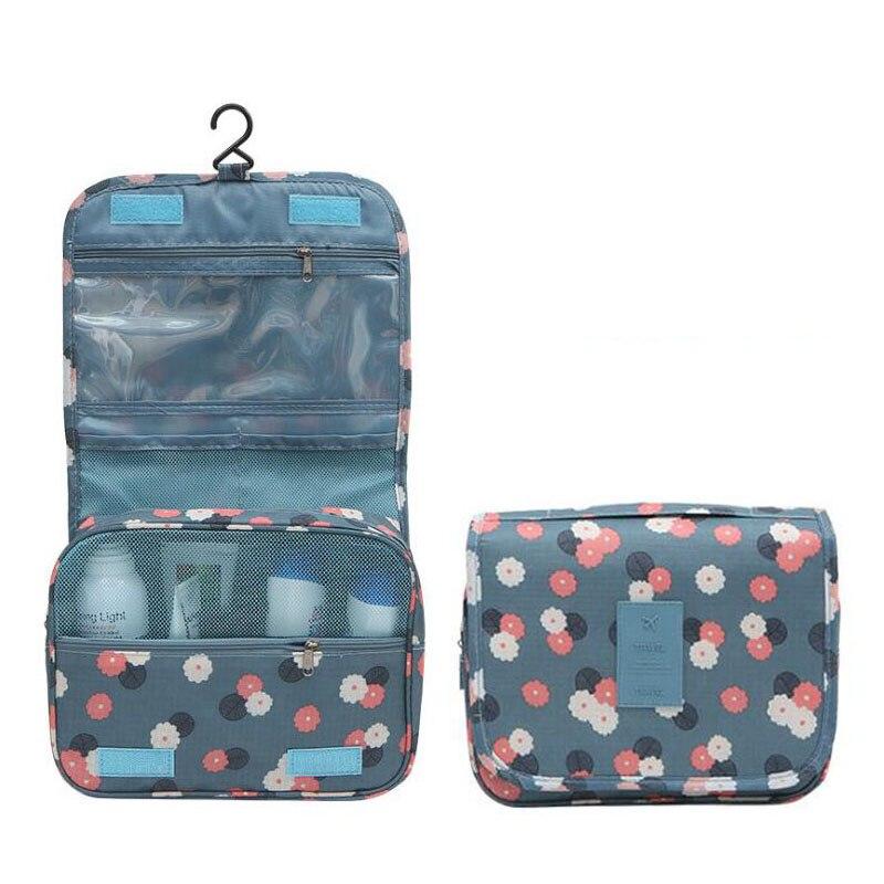 New Hook Type Multifunction Travel Cosmetic Bag Women Makeup Bags Toiletries Organizer Waterproof Female Storage Make Up Cases