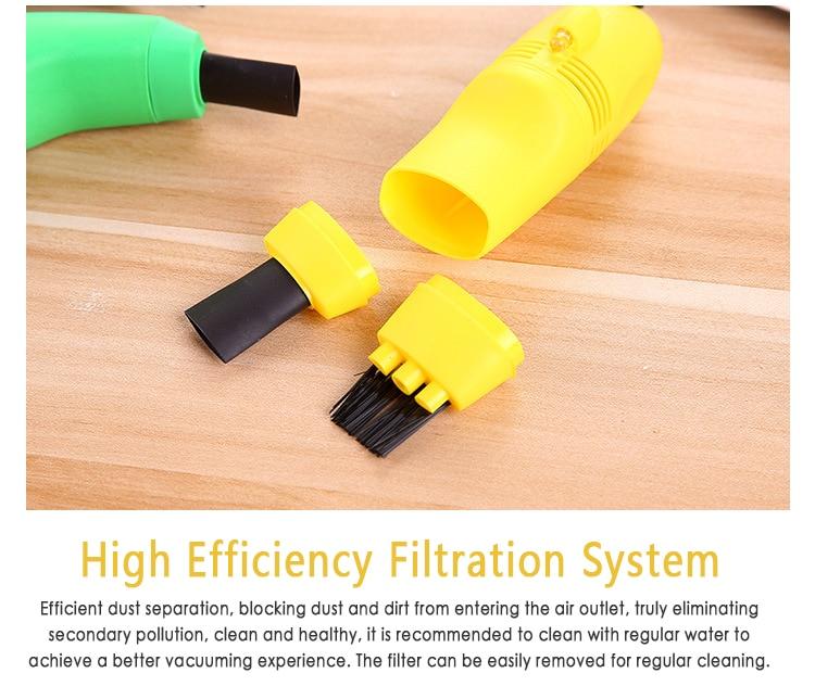 PC Cleaner Portable Mini USB Handheld Keyboard Vacuum Cleaner Cleaning Equipment Keyboard Cleaner  Usb Vacuum Cleaner Dropship