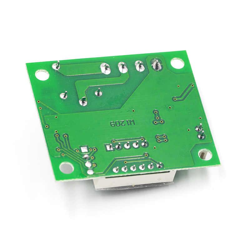 W1209 DC 12V chaleur température froide thermostat interrupteur de contrôle de température régulateur de température thermomètre thermo contrôleur