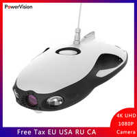 PowerVision PowerRay Explorer ROV Underwater Drone Marine Fishing Camera Drone 1080p Fishing Drone Rc Wizard Dron Diving Boating