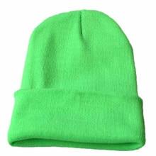 Стильная шапка для мужчин и женщин, теплая мешковатая вязаная шапка в стиле хип-хоп, теплая зимняя Лыжная шапка унисекс, шерстяные шляпы Mujer Invierno