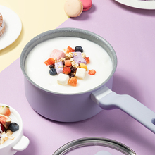 Cookware Milk-Pot Nonstick 16cm Induction Saucepan with Visual-Lid Suit for All-Stove