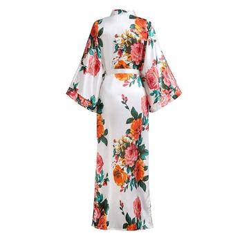 Novelty Women Kimono Gown Sleepwear Plus Size 1