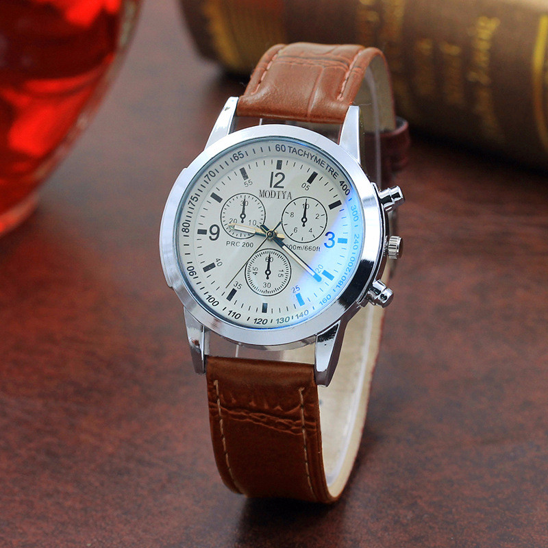 Belt Sport Quartz Hour Wrist Analog Watch Sports Casual Men