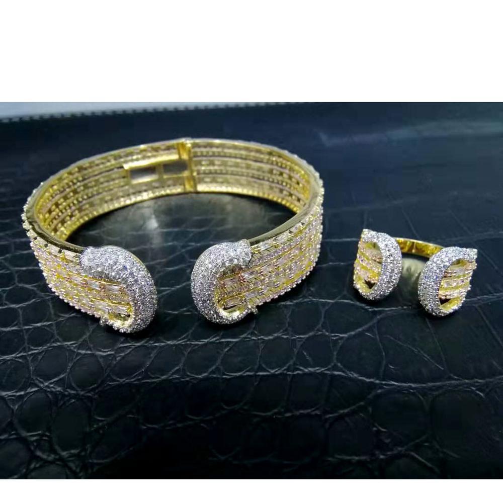 Cubic, Party, Zircon, Jewelry, Women, GODKI