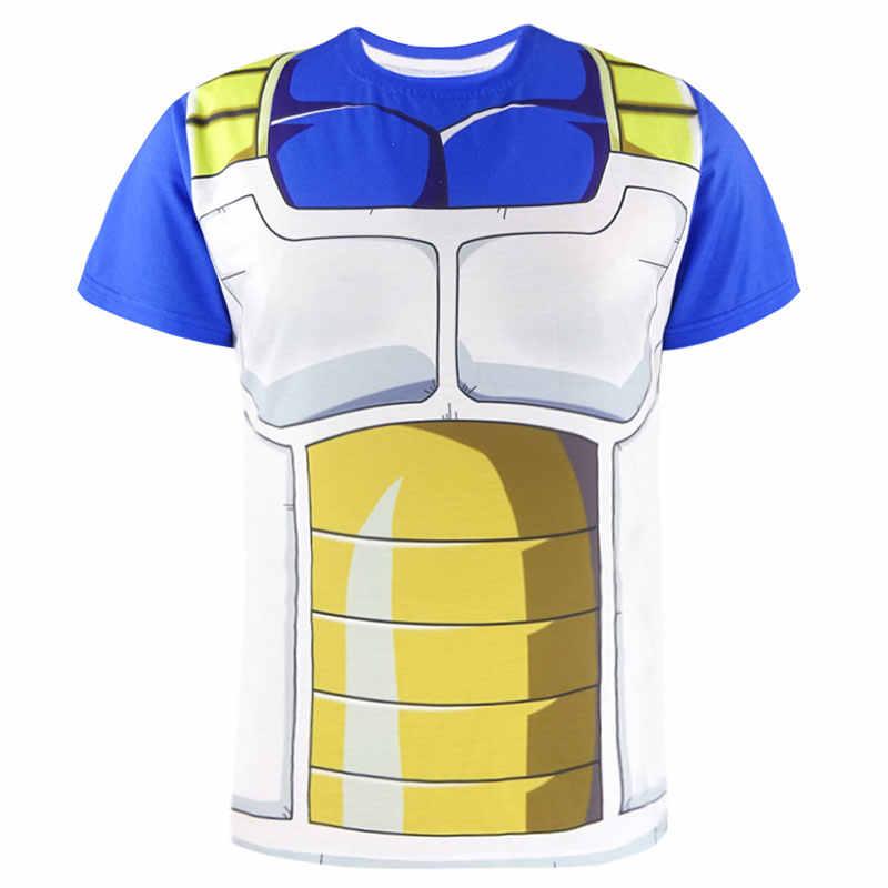男性ドラゴンボール z 3D プリント tシャツ男性ハロウィーンアニメファッションコスプレパーティー tシャツ衣装大人おかしいカジュアルショートトップス
