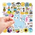 10/50/100pcs Cute Vsco Girl Stickers aesthetic For Laptop Skateboard Phone Luggage Helmet Waterproof Decal Sticker For children