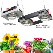 CREE CXB3590 COB LED Grow Light Full Spectrum 100W 200W Citizen 1212 & CXB3070 Plant Grow Lamp Indoor Tent Greenhouse Hydroponic