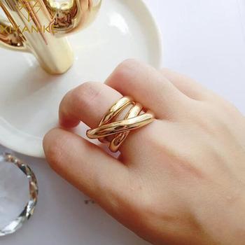 XIYANIKE 925 srebro pierścionki dla kobiet pary kreatywna biżuteria w stylu Vintage Handmade krzyż uzwojenia pierścień akcesoria imprezowe prezent tanie i dobre opinie SILVER 925 sterling Kobiety CYRKON Zewnętrzna ocena Drobne Brak VRS2157 GEOMETRIC TRENDY Pierścień pokazowy zaręczyny