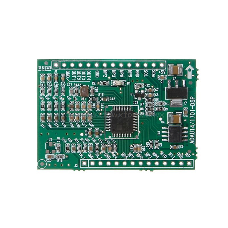 ADAU1401/ADAU1701 <font><b>DSPmini</b></font> Learning Board Update To ADAU1401 Single Chip Audio System S11 19 Dropship image