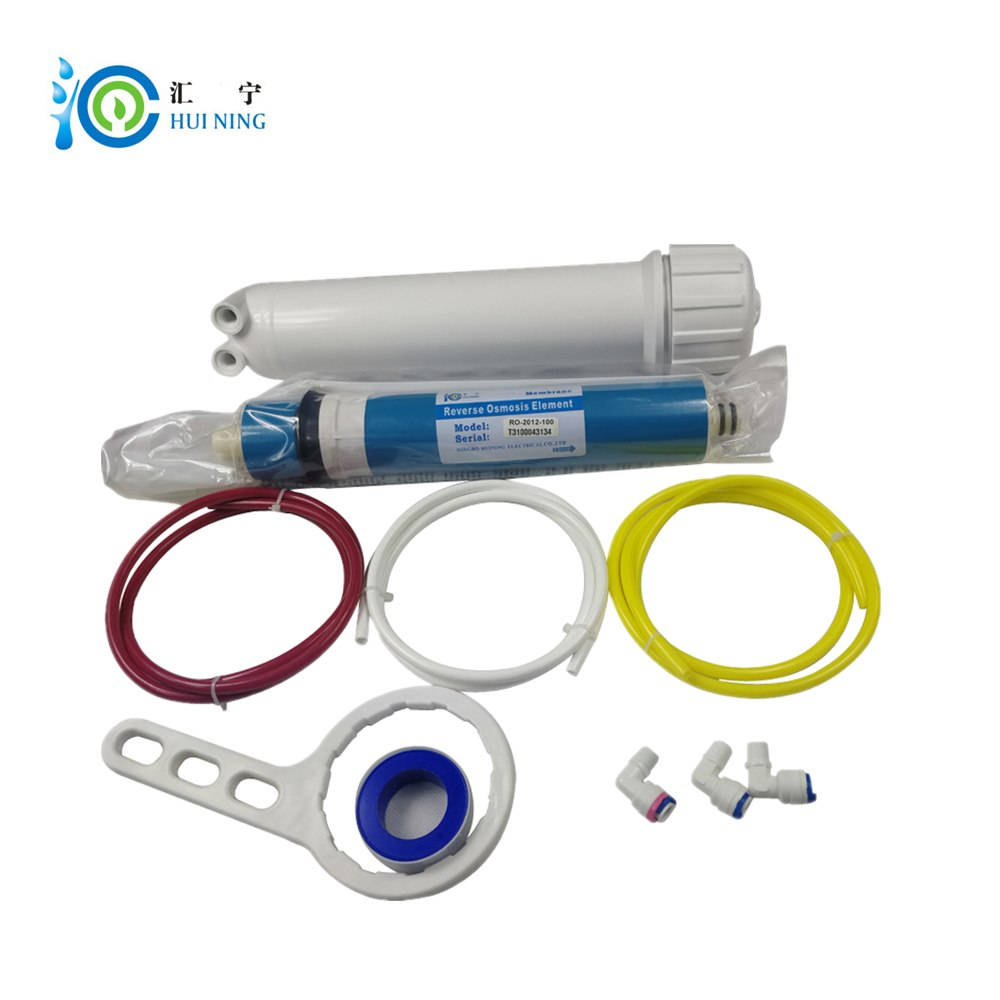 Huining 75GPD RO Membrane 1812//2012 Residential Reverse Osmosis Membrane Water Filter Cartrige Replacement for Home Drinking Water Filtration System Household Under Sink Water Purifier