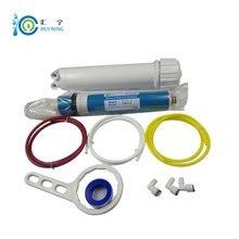 Darmowa wysyłka filtr do wody 100gpd membrana ro + ULP1812 100 obudowa do tyłu filtr osmotyczny