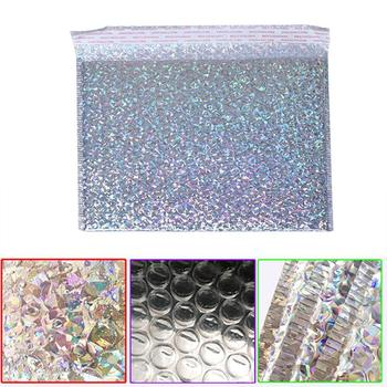 1pcs Bubble Bag Envelope Foam Foil Shipping Mailing Supplies Waterproof Bag Packaging Bag Stationery Anti-vibration E1Y5 image
