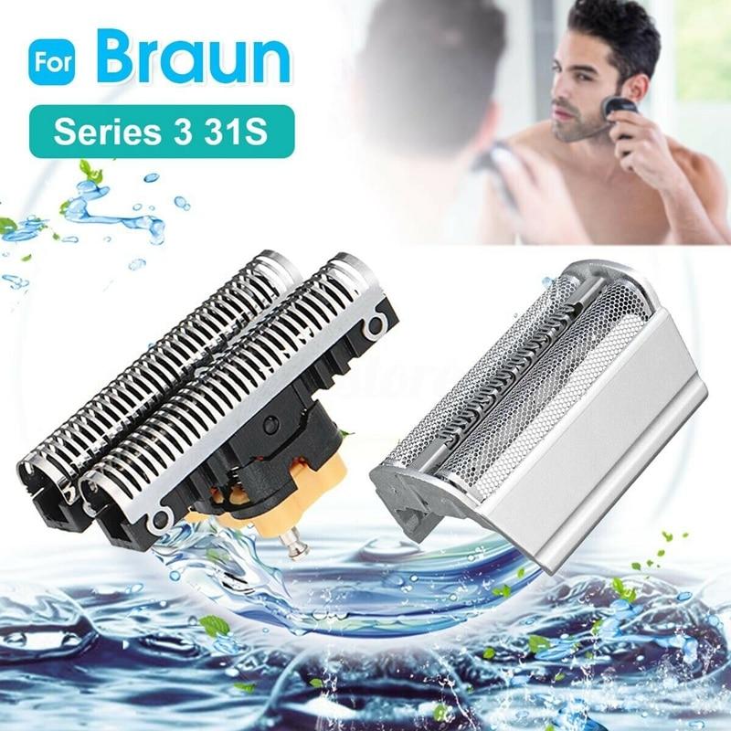 ABVP Combi Shear Blade Head For Braun Shaver 31S 31B 5000 6000 Series 3
