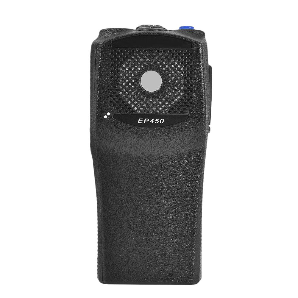 Original Replacement Front Casing With The Knobs Repair Housing Cover Shell For Motorola EP450 Walkie Talkie Two Way Radio
