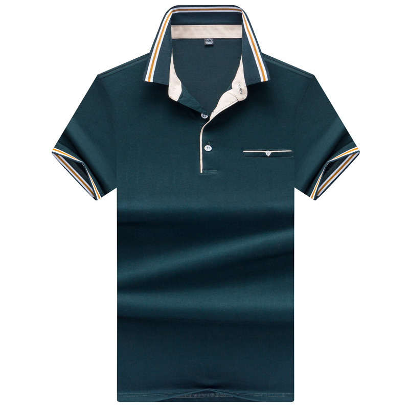 JUNGLE ZONE 2019 New High Quality Tops&Tees Men's   Polo   shirts Business men brands   Polo   Shirts collar mens   polo   shirt 7176
