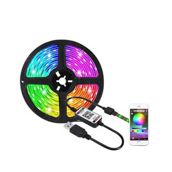 LED background light with set colorful USB bluetooth 5V waterproof with smart light with home atmosphere light