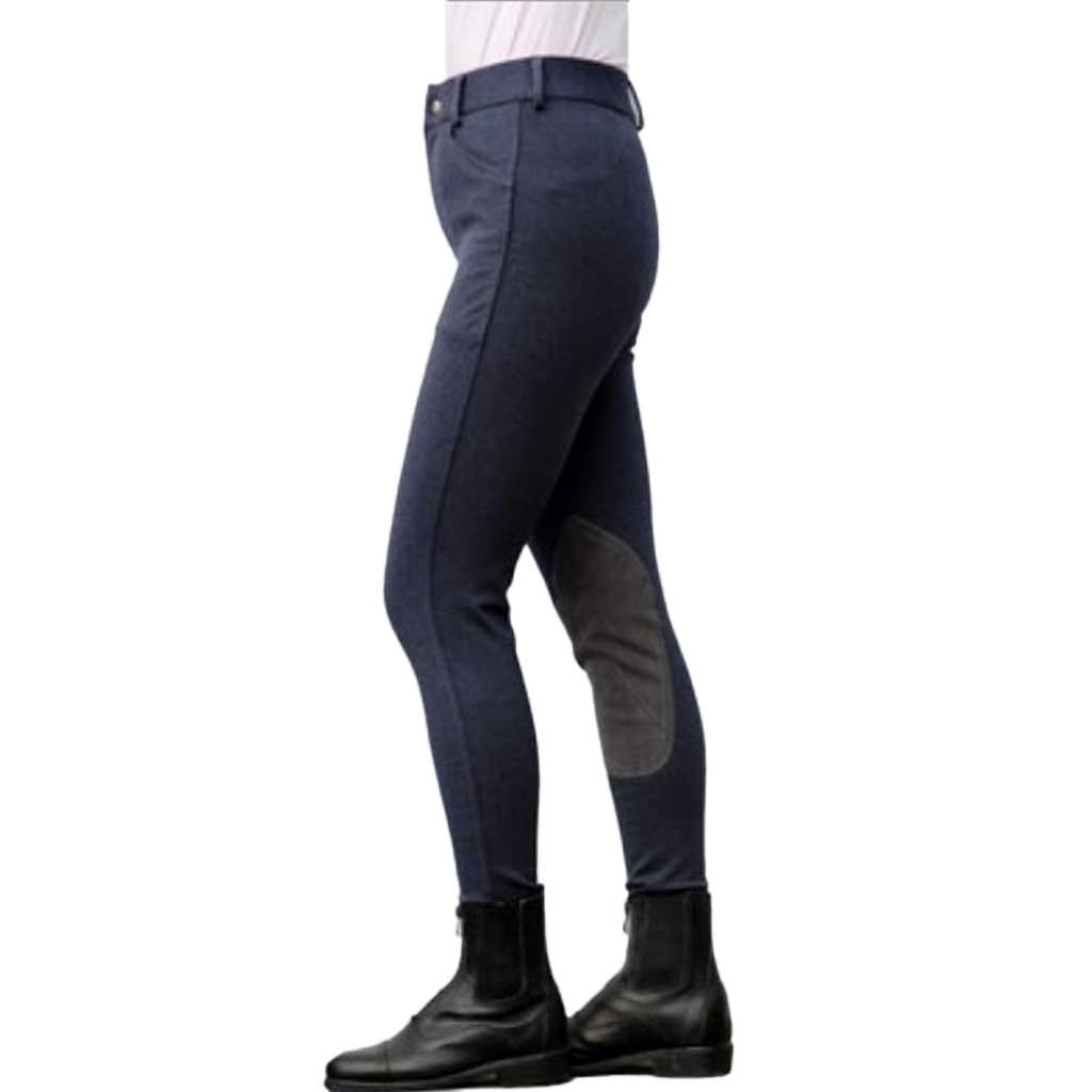 Equestrian Jodhpurs Pants Cotton Stretchy Breeches Horse Riding Show Performance Competition