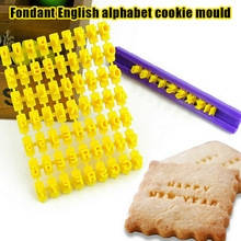 Newly Alphabet Number Cookie Biscuit Letter Stamp Mould Decorations Fondant DIY Tool for Kitchen XSD88
