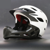 Kids Cycling Safety Helmet Road Mountain Bike MTB Bicycle Helmets Fullface Skiing Helmet OFF-ROAD DH Bike Sports Safety Caps
